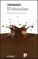 portade llibre el chocolate amb una gota esquuitxada de xocolata