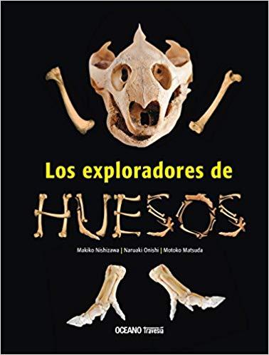 portada llibre exlporadores huesos amb crani i ossos