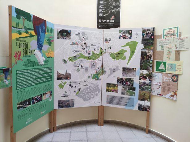 Plafons itineraris exposats al Cap del Doctor Ribas